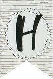 Lettervlag gold H_