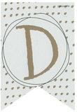 Lettervlag gold D_