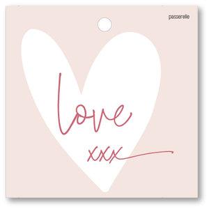 Love kaartje Love xxx