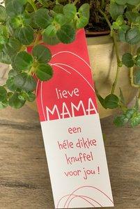 Moederdag magic lieve mama, een hele dikke knuffel voor jou