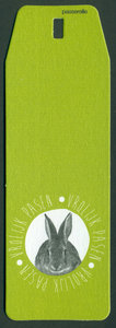 paaskaartjes one groene label