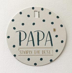 Vaderdag papa stipjes